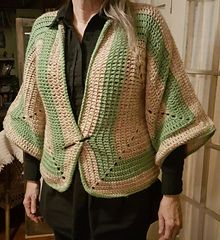 Ravelry: Double Hex Jacket pattern by Deborah E. Burger