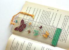 transparent book mark