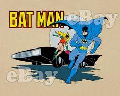Rare! NEW ADVENTURES OF BATMAN Cartoon Color TV Photo FILMATION ASSOCIATES