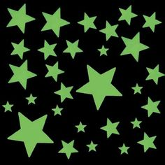 glow in the dark stars - had them all over my bedroom ceiling