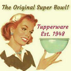 Tupperware   The Original Super Bowl
