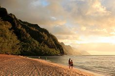 Kauai Photos at Frommer's - Beautiful, secluded Kee Beach was featured in The Thornbirds.