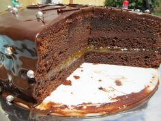 La Juani de Ana Sevilla: Tarta Sacher (Mi receta) Choco Chocolate, Dessert Recipes, Desserts, Bon Appetit, Sweet Recipes, Sweet Tooth, Sweets, Cooking, Ethnic Recipes