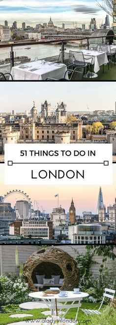 51 things to do in London in a year, from events and festivals to seasonal highlights.