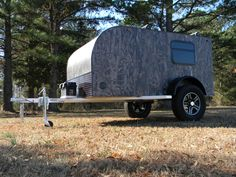 """""""Camping should be about getting closer to nature, not hauling your living room to a new location. The outdoors is easy to 'tap into' and to enjoy at very little or even no cost. Teardrop trailers provide the convenience of a caravan but bring us closer to nature like a tent.""""  http://tinycamper.eu/benefits-of-a-teardrop-trailers/"""