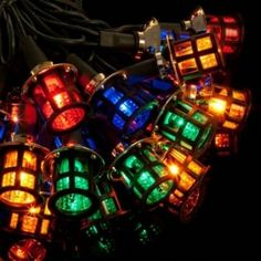 20 Victorian Led Lanterns Decorative Lights Christmas Tree See Our Ebay Outdoor