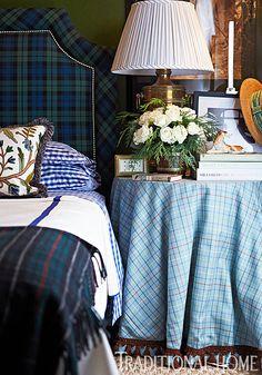Tartan Bedroom - Scot Meacham Wood