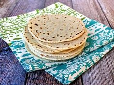 Paleo Tortillas - The flavor of these is good, but they were a little crumbly.  Going to play around with the recipe to see what I can do.