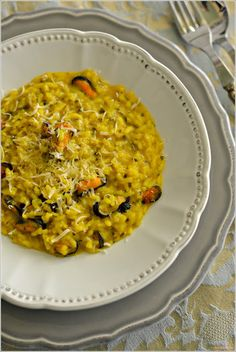 Sweet my Kitchen: Risotto de mexilhão