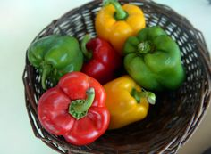 Bell peppers can be used in all manner of recipes, stuffed, raw and beyond.