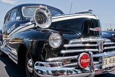 1947 Chevrolet Police Car. I used to go with my dad when he would drive this car in parades in Idaho
