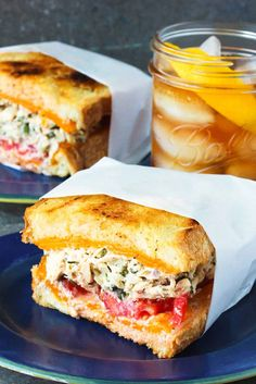 This Amazing Tuna Melt recipe is one for the record books. It takes this iconic … This Amazing Tuna Melt recipe is one for the record books. It takes this iconic sandwich over the top & is incredible in flavor & texture. Tuna Melt Sandwich, Tuna Melts, Soup And Sandwich, Tuna Sandwich Recipes, Sandwich Ideas, Cubano Sandwich, Turkey Club Sandwich, Sandwich Menu, Breakfast