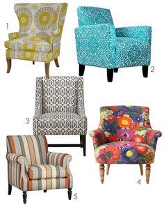 Merveilleux Printed Chairs.