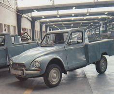 Citroën Saipac 2CV, Jiane Sedan, Jiane Pickup and Mehari    2CV Index     Above - the first Saipa-built car was the 2CV Fourgonnette AK 350 in 1968.    Below - an estate car was also built    Above - Jiane pickup