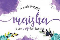 Maisha Script from FontBundles.net