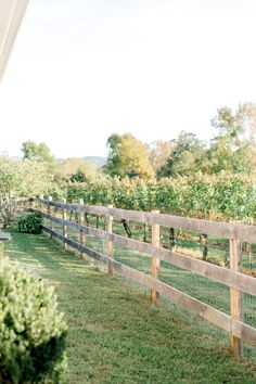 Farmhouse at Veritas Vines Veritas Vineyards, Virginia Landscape Prints by Anna Kardos Photography FENCE Farm Fence, Backyard Fences, Pasture Fencing, Yard Fencing, Farm Gate, Horse Fencing, Dog Fence, Fenced In Yard, Farmhouse Landscaping