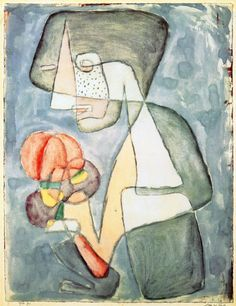 Paul Klee ~ Woman with Tomato