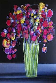 zoe pawlak - vancouver artist - untitled (large flowers)