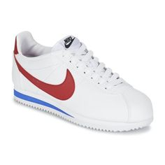 best service 642d3 60aa1 Classic cortez leather w. Basket Basse FemmeRouge BleuChaussure ...