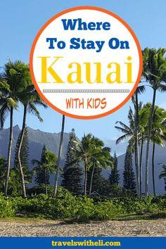 Where to Stay on Kauai With Kids - Planning a family trip to the Hawaiian island of Kauai? This guide will help you decide where to stay in Kauai on your Hawaiian family beach vacation Hawaii Vacation Tips, Beach Vacation Outfits, Hawaii Travel, Beach Trip, Vacation Spots, Travel Usa, Beach Vacations, Kauai Hawaii, Travel Tips