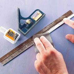 If you have metal rulers and squares that are hard to read because rust and grime have filled the indentations, we've got the fix for you.