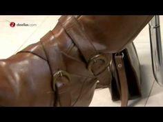 Algo que esta muy de moda es renovar ropa o calzado, que tienes en el armario que nunca te pones pero te cuesta mucho desprenderte de ellos. Lola en este vídeo nos explica cómo rescato unas botas muy usudas y que ahora marcan estilo. Para ver más vídeos visita http://www.deellas.com
