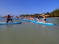 Embracing the SUP Yoga Practice on the Sacred Hawaiian Sea Wanderlust Yoga, Sup Yoga, Yoga Music, Best Self, Hawaiian, Sea, Water, Life, Gripe Water