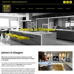 Renown as the best Joiners Glasgow wide DM Specialist Joinery offer a wide range of joinery services in Glasgow such as kitchen fitting, shop fitting, new builds, extensions and more. Throughout our 15 years of experience we never sacrifice our standards and always provide the highest possible standards for our clients.