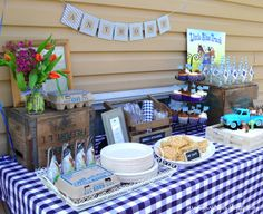 Earning Our Stripes: Little Blue Truck Birthday Party