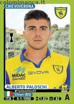 Calciatori 2014-2015: Fronte Figurina n. 102 Alberto Paloschi