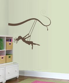 Paint on wall for girl bedroom