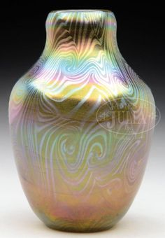 TIFFANY KING TUT VASE. - Price Estimate: $1200 - $1500