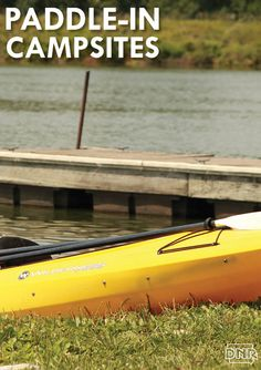 Pack all you need in your kayak, because that's the only way to reach these secluded Iowa campsites. | Iowa DNR