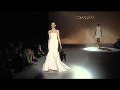 Hoy destacamos algunos de los trabajos de Rosa Clará con este vídeo de su Desfile en la Barcelona Bridal Week: http://www.youtube.com/watch?v=xmWt-47IBwo …. Woo!