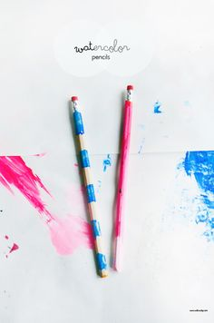 Paint Water Color Pencils | willowday