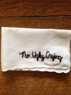 The perfect hanky fo