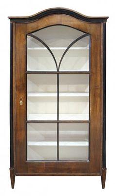 Fabulous Biedermeier Vitrine um aus Kirschholz Biedermeier Furniture Cabinet s restored Biedermeier M bel Pinterest
