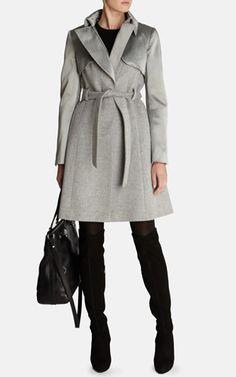 Manteau classique intemporel