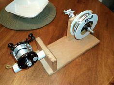 Make your own line spooling tool.