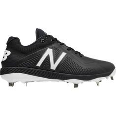 New Balance Men's 4040 V4 Metal Synthetic Baseball Cleats, Black