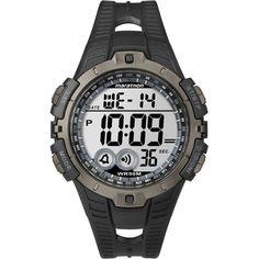 df76acd2444 Timex Marathon Digital Display Sports Watch T5K802  Black sports watch from  Timex Marathon series.