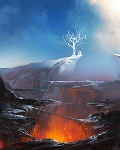 Tree of Light by *sakimichan on deviantART