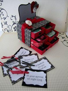 Stampin' Up!  Matchbox  LeeAnn Greff  Valentine