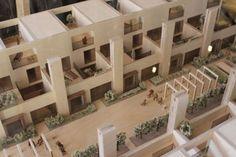 Accordia by Feilden Clegg Bradley Studios Architecture Collage, Education Architecture, Alison Brooks, Urban Village, Park Homes, Facade Design, Cambridge, Townhouse, Entrance
