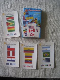 Continent Boxes: South America
