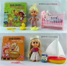Lola Liddle was my favorite, when I wasn't playing with my Kiddles, I was pretending like I was one.