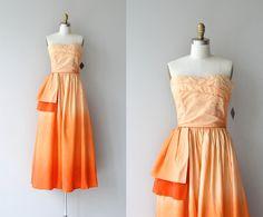 Alba Tramonto dress | vintage 1950s dress • strapless ombre 50s party dress by DearGolden on Etsy https://www.etsy.com/listing/233269179/alba-tramonto-dress-o-vintage-1950s