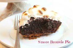 S'more Brownie Pie