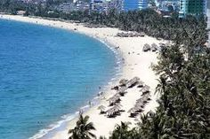 one picture about coastal city view in Nha Trang Vietnam