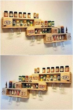Wooden Pallet Furniture pallet pallet shelving plan - Used pallets are thrown away and considered as garbage by most of the individuals because they don't know the value of them as they don't. Wooden Pallet Projects, Wooden Pallet Furniture, Pallet Sofa, Wooden Pallets, Furniture Plans, Diy Furniture, Pallet Ideas, Wood Ideas, Pallet Lounge